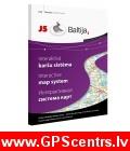 Jāņa sēta JS Baltija 3 Interaktīvā karšu sistēma GPS