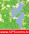 Jāņa Sēta Garmin karte ar LVM mežu datiem